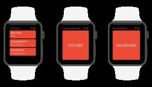 YTCount Apple Watch