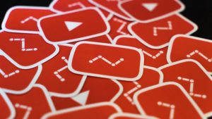 YouTube stickers