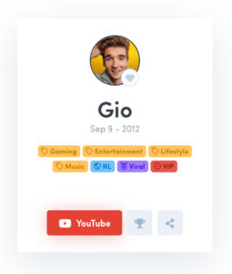 Gio Latooy YouTube Subscriber Count Abonness